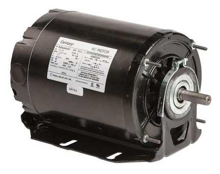 Motor Sp Ph 1/3 HP 1725/1140 115V 48 ODP by USA Century HVAC Belt Drive Motors