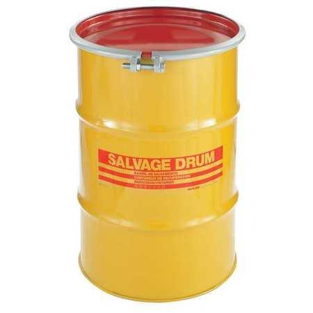 Value Brand Transport Drum Open Head 30 gal. Yellow