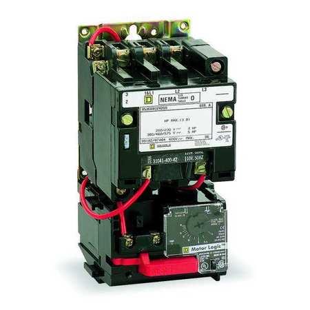 NEMA Magnetic Motor Starter Model 8536SCO3V06H30 by USA Square D Electrical Motor Magnetic Starters