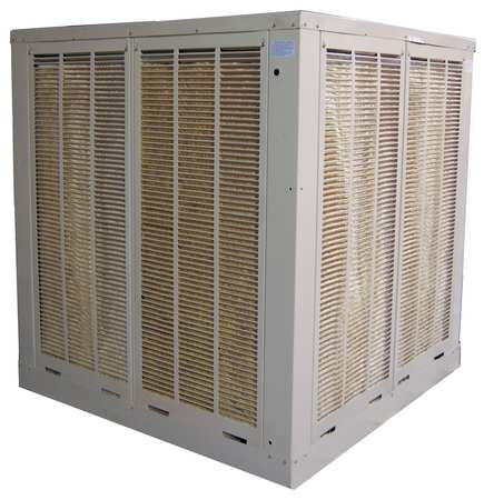 Ducted Evaporative Cooler,16,000 cfm -  CHAMPION, 7K576