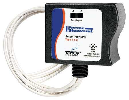 Surge Protection Device 1 Phase 120V Model STT21201PG by USA Mersen Electrical Surge Protection Devices