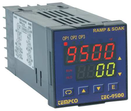Temp Ctrl 90 250VAC 1/16Din (1)2AOutput by USA Tempco Industrial Automation Temperature Controllers