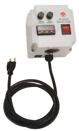 Temp Ctrl Box Digital K 240V 15A 0 2400F by USA Tempco Industrial Automation Temperature Controllers