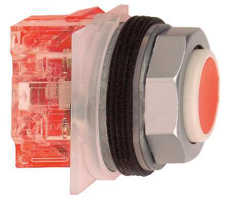 Non Illuminated Push Button 30mm Metal Model 9001KR3RH6 by USA Schneider Electrical Pushbutton Complete Units