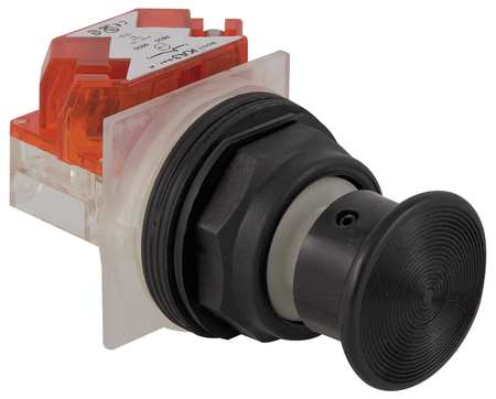 Non Illuminated Push Button 30mm Plastic Model 9001SKR24BH6 by USA Schneider Electrical Pushbutton Complete Units