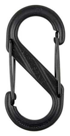 Nite Ize Carabiner Clip 2 In. Plastic Black