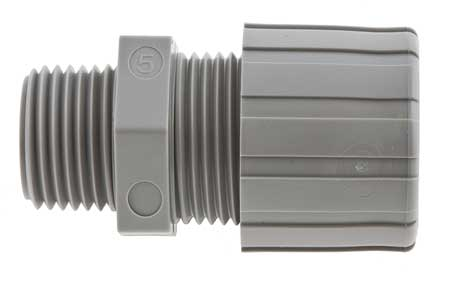Cable Connector 3/4 In Straight Black by USA Hubbell Kellems Electrical Strain Relief Connectors