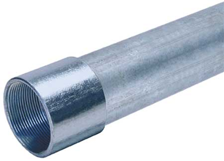 Rigid Conduit 4 In. 10 ft. L Steel by USA Allied Electrical Conduits