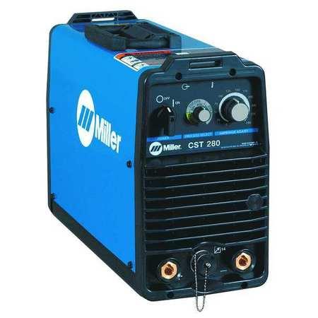 DC STICK/TIG Welder, CST 280 Series, Dinse-Style 208-230-/400-460V -  MILLER ELECTRIC, 907251