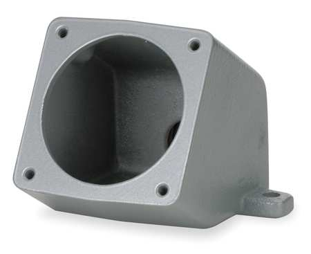 "Angle Back Box 60A 1"" Hub Feed Thru 15 by USA Hubbell Kellems Electrical Pin & Sleeve Receptacles"