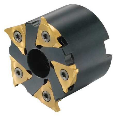 8 Insert Size Threaded Coupling Steel Right Hand 24mm Cutting Diameter x 69mm Overall Length Sandvik Coromant R300-32T16-08M CoroMill 300 Profile Milling Cutter 4 Close Pitch