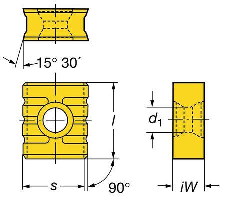 Sandvik Coromant Milling Insert 215.3 1211 1 11 235 Min. Qty 10