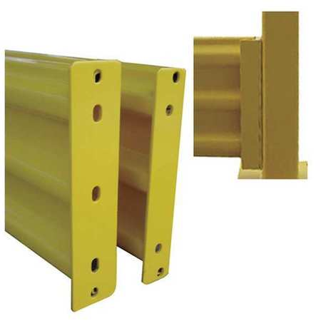Value Brand Guard Rail 3 Ribbed Lift-out Rail L102In