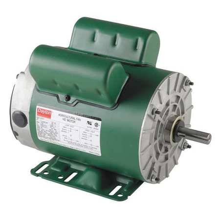 Farm Duty Mtr Cap Start TEAO 1hp 1725rpm Model 5JKX1 by USA Dayton AC Farm Duty Motors