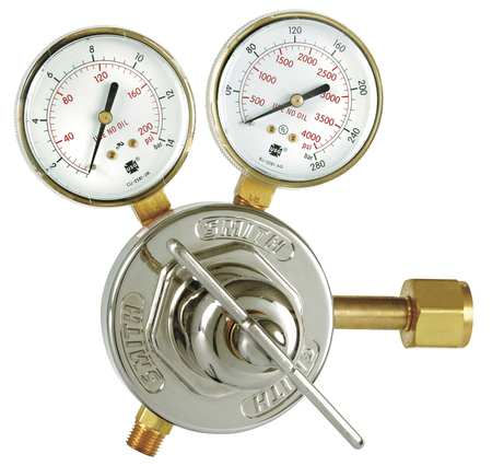 16531 1-5//8 in Flowmeter Regulator Miller Electric L Nylon