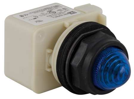 Pilot Light Complete Blue LED by USA Schneider Electrical Control Pilot Lights