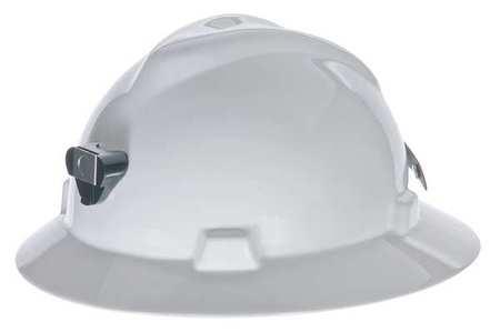 Msa 460069 Hard Hat W Lamp Bracket And Cord Holder