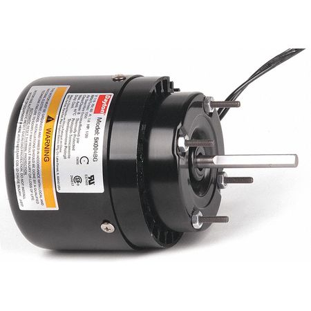 HVAC Motor 1/20 HP 1550 rpm 115V 3.3 Model 5K004 by USA Dayton HVAC 3.3 Inch Diameter Motors