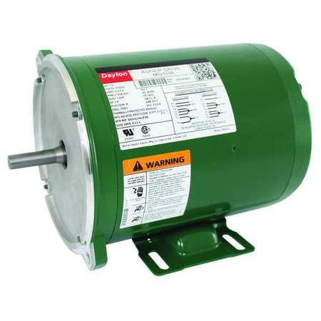 Farm Duty Mtr Splt Ph TENV 1/3hp 1725rpm Model 5K043 by USA Dayton AC Farm Duty Motors