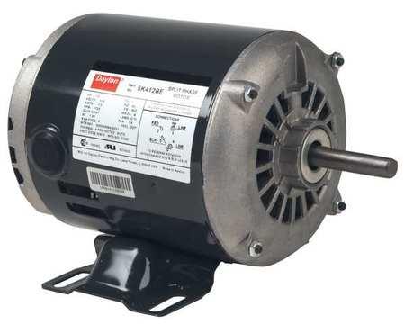 GP Mtr Split Ph ODP 1/4 HP 1725 rpm 56Z by USA Dayton General Purpose Split Phase AC Motors