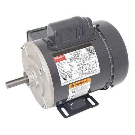 GP Mtr CS TEFC 1/3 HP 1140 rpm 56 by USA Dayton General Purpose Capacitor Start AC Motors