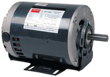 Mtr 1/2 1/4HP 1725/1140RPM 230V by USA Dayton General Purpose Split Phase AC Motors