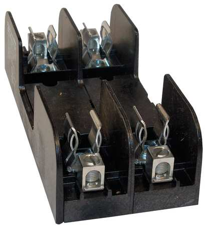 Fuse Block Industrial 30A 2 Pole Model 60302 by USA Mersen Ferraz Shawmut Circuit Fuse Blocks & Holders
