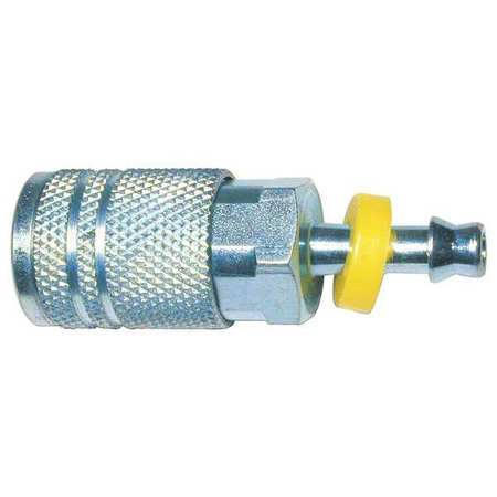 Steel 1//4 TF BARB 1//4 ID Amflo CP1-42 Plug 1//4 ID 1//4 TF BARB