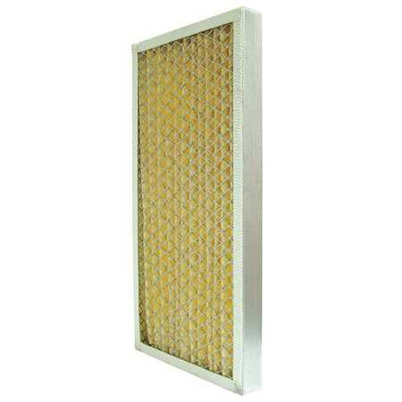 "Std.Capacity Pleated Air Filters, MERV 7, H 7-3/4"" to 19"""