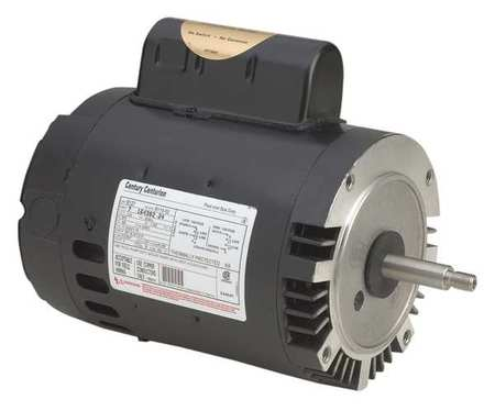 Pool Motor 1.5 HP 3450 RPM 115/208 230V Model B796 by USA Century Pool Pump Motors