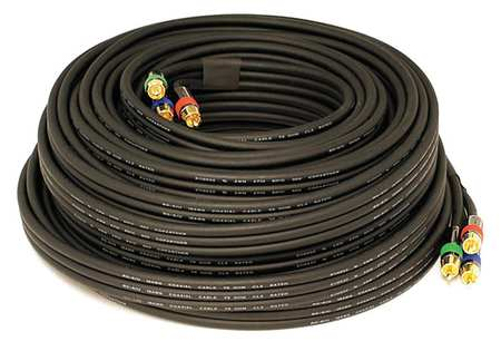 RCA Cable RG 6 3 RCA 75 ft. by USA Monoprice Audio Video Cables