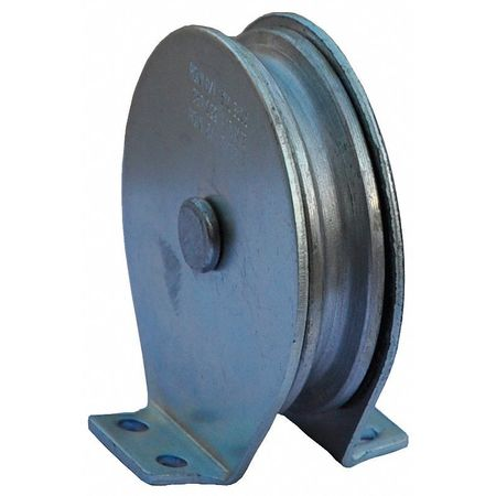 Value Brand Pulley Block Wire Rope 600 lb Load Cap.
