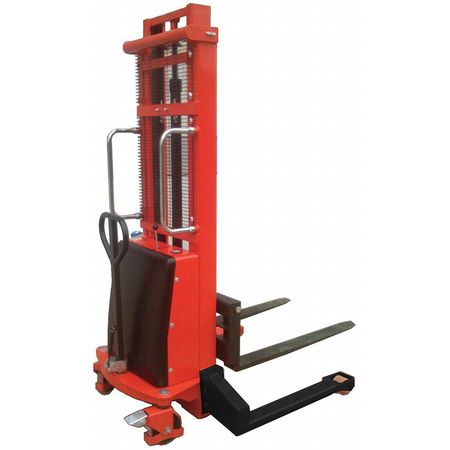 Dayton Fixed Bse Hyd Stacker 1000 lb 63 In Lift