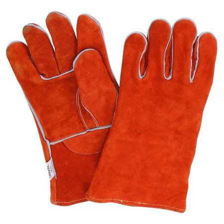 Gloves,   One-Piece Lined Leather