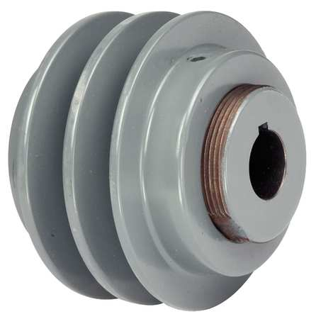 V-Belt Pulleys,  Variable Pitch,  2 Groove