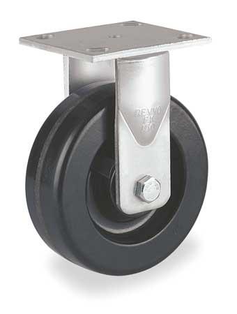 Value Brand Plate Caster Rigid Phenolic 8 in 1400 lb