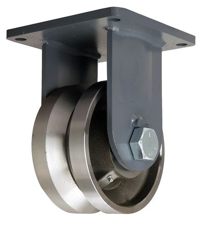 Value Brand Plt Cstr Rgd Forged Steel 8 in. 6500 lb.