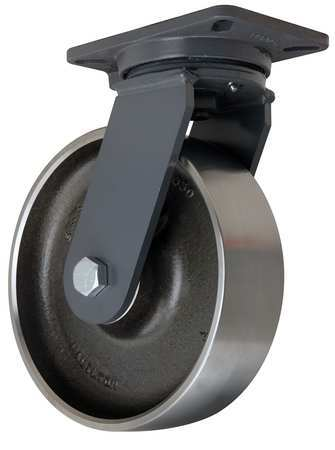 Hamilton Plate Caster Swivel Forged Steel 10 in 4000 lb
