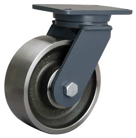 Hamilton Plate Caster Swivel Forged Steel 8 in 4000 lb