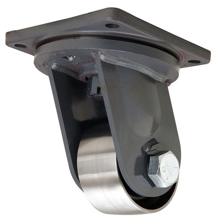 Hamilton Plate Caster Swivel Forged Steel 6 in 12 000 lb D