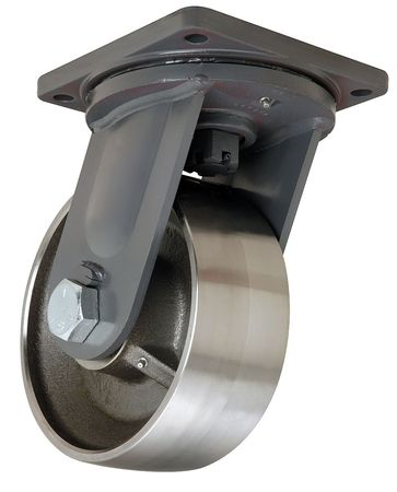 Hamilton Plate Caster Swivel Forged Steel 10 in 18 000 lb
