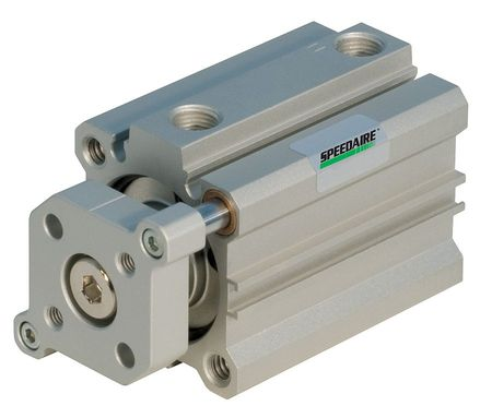 Speedaire 40mm Bore Compact Double Acting Air Cylinder 10mm Stroke