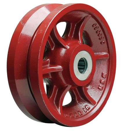 Value Brand Caster Wheel Cast Iron 8 in. 2500 lb.