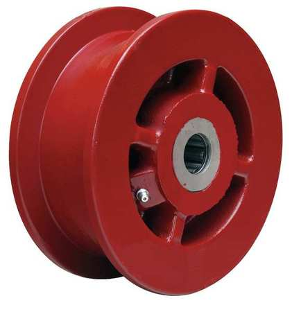 Value Brand Caster Wheel Cast Irn 6 in. 2500 lb. Red