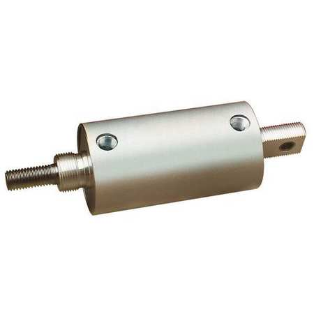 """Speedaire 2 1/2"""" Bore Round Double Acting Air Cylinder 12"""" Stroke"""