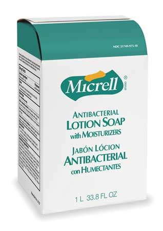 Micrellantibacterial Soap Refill,lotion,85oz,pk8