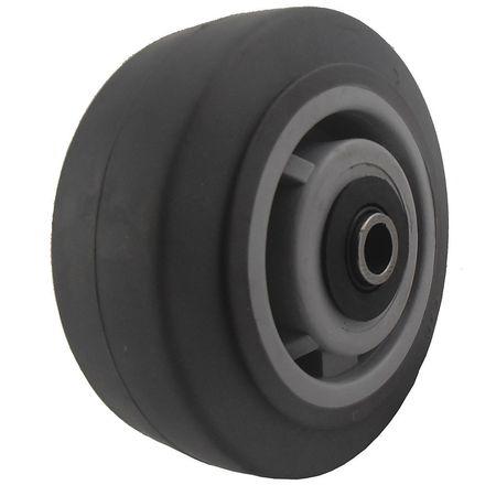 Value Brand Caster Wheel TPR 5 in. 375 lb. Gray