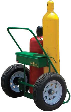 Saftcart Welding Cylinder Truck 2 Cyl 1680 lb. Type 504-30