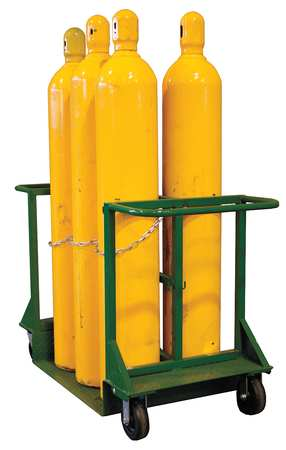 Saftcart Cylinder Truck 6 Cylinder 2800 lb.