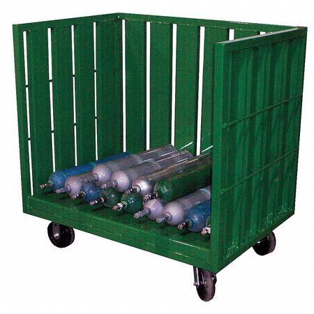 Saftcart Cylinder Trolley 46 In. H 3200 lb.